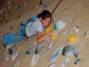 klimmen met kind